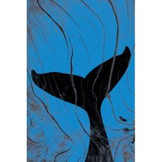 """Mercury Row Emerging Underwater Graphic Art Wrapped on Canvas Size: 26"""" H x 18"""" W x 0.75"""" D"""
