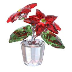 @Swarovski Holi-Décor: Poinsettia Figurine #Moments2Give