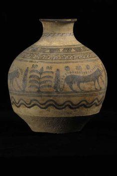 Indus Valley Terracotta Vessel - LO.1327  Origin: Pakistan/Western India  Circa: 3500 BC to 2000 BC