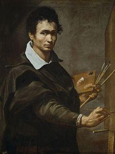 Orazio Borgianni ( attrib ) Autoritratto ? (Prado, Madrid), c.1615