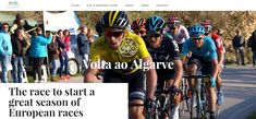"""Here's what our Volta Algarve Guests had to say: """"Thanks so much for a wonderful week to Volta Algarve Tour! It's been hard to return to work with images of bikes, fish, orange trees, and the ocean in my mind. As non-riders, we both had a fantastic time. We loved the starts and finishes of the stages with our up-close VIP access, were thrilled by the sight of the riders passing, savored our most delightful coffee and lunch stops, that gorgeous lunch in Monchique stands out as a highlight."""