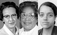 Katherine Johnson, Mary Jackson, Dorothy Vaughan (NASA)