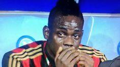 De tranen van Balotelli