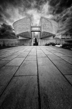 Museum in Banska Bystrica by Juraj Kuboš Frank Gehry, Bane, Alternative, Louvre, Museum, Exterior, Building, Places, Travel