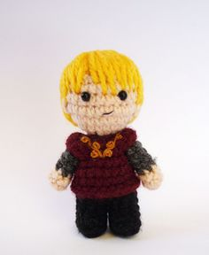 Tyrion Lannister From The Game of Thrones Crochet Pattern (pay $3.70)