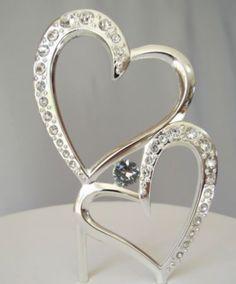 Engagement Cake Toppers, Engagement Cakes, Wedding Cake Toppers, Wedding  Cakes, Wedding Cake Decorations, Heart Cakes, Christmas Wedding, Crystal  Rhinestone ...