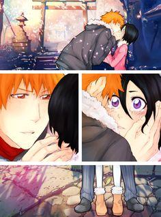 Colored Ichiruki kiss