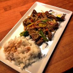 Guttas Kjøkken: Chop Suey med biff (entrecote) Chop Suey, Food And Drink, Favorite Recipes, Beef, Meat, Ox, Ground Beef, Steak