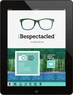 (coming soon) iBespectacled - A Spectacular iPad App for Opticians & Eyewear Retailers. Optometry Office, Eyeglass Stores, Optician, Four Eyes, Fashion Designer, Ipad App, Iphone App, Media Marketing, Eyeglasses