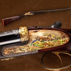 GUN OF THE DAY – Holland & Holland Cloisonné Double Rifle Visit the NRA Booth at the Great American Outdoor Show to see the GOTD in person. To learn more about the show, visit: http://bit.ly/1C1Bqi7.