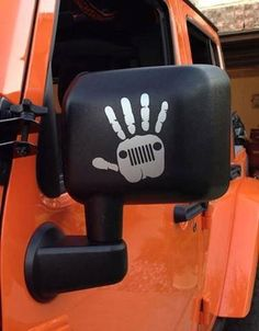 "Newest Jeep Swag: Jeep Wave Decal (High Quality Vinyl) Approximately 4""x4"". FREE SHIPPING"