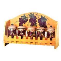 Luxury Grape Decor For Kitchen : Tuscany Grape Kitchen Decorations