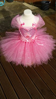 Peppa pig inspirado Vestido de brillo por LittleSomethingTutus