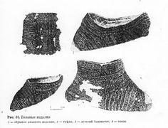 Naalbinding socks Rus SCA