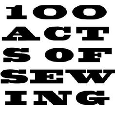 sewing patterns by 100ActsofSewing on Etsy