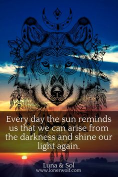 There is always hope. Overcoming depression and anxiety is about having faith that your soul is strong enough to make it through -- and it is. Wolf Quotes, Faith Quotes, Life Quotes, Spiritual Awakening, Spiritual Quotes, Overcoming Depression Quotes, Cool Words, Wise Words, Thoughts