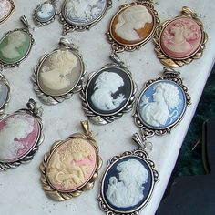 So pretty. Would love to do some type of craft with cameos.