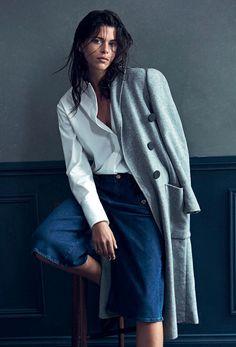 visual optimism; fashion editorials, shows, campaigns & more!: the new demin: georgia fowler by darren mcdonald for harper's bazaar australia march 2015