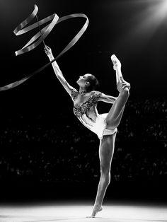 rhythmic gymnastics training black and white - Google Search