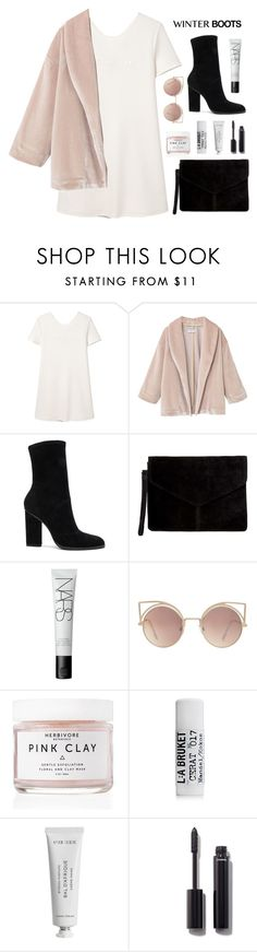 """Feelin' Cozy"" by cyberqueenn ❤ liked on Polyvore featuring MANGO, Alexander Wang, Miss Selfridge, NARS Cosmetics, Herbivore, L:A Bruket, Byredo and Chanel"