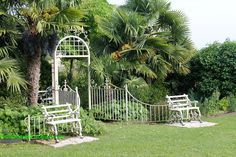 Il giardino di Casa Biasi (VR) - l'entrata del giardino segreto