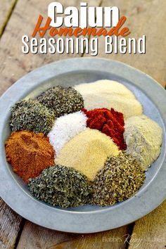 This homemade Cajun Seasoning Recipe uses spices you probably already Homemade Spice Blends, Homemade Spices, Homemade Seasonings, Spice Mixes, Homemade Recipe, Homemade Cajun Seasoning, Seasoning Mixes, Garlic And Herb Seasoning Recipe, Dressings