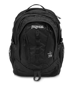 JanSport Odyssey Daypack Black *** Details can be found by clicking on the image.