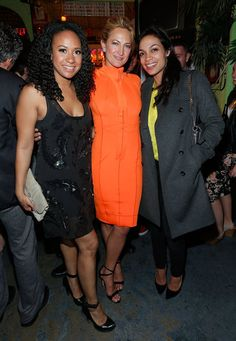 See All the Stars at the Tribeca Film Festival — So Far! Rosario Dawson partied with Tracie Thoms and Zoë Bell at the afterparty for Raze.