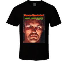 Chuck Wepner Sports Illustrated Boxings Strange T Shirt Sports Illustrated, Shirt Style, Pop Culture, Wicked, Tees, Illustration, Mens Tops, T Shirt, T Shirts