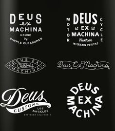 #typography, #Deus ex Machina