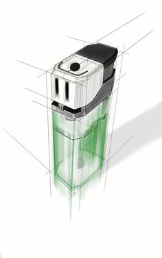 lighter sketch # Furniture sketch My Digital Sketches Basic Sketching, Perspective Drawing Lessons, Learn To Sketch, Object Drawing, Industrial Design Sketch, Sketches Tutorial, Sketch Design, Art Sketchbook, Designs To Draw