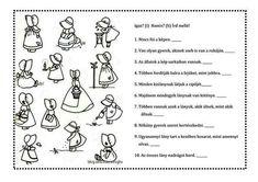 GYAKORLÓ FELADATLAPOK, TUDÁSPRÓBÁK 1. OSZTÁLY - webtanitoneni.lapunk.hu Special Education, Homeschool, Teaching, Dyslexia, Kids, Learning, Education, Homeschooling, Teaching Manners