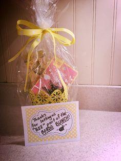 Gift for my intern-mentor teacher. Last day interning ...