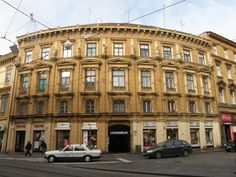 House of Izrael Rosenfeld. Designed by Franjo Klein. #Croatia #Zagreb #architecture #Capital #building #design #artdeco #artnouveau #secession #baroque #neobaroque #old #buildings #mansions #vila #Europe #Mirogoj #arcades