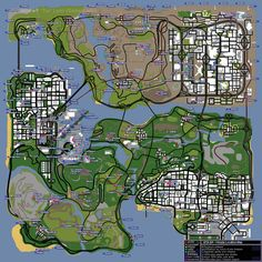 25 Best Gta map images in 2018 | City maps, Videogames, Bing
