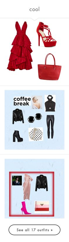 """cool"" by lydia-kelly-redwood on Polyvore featuring Oscar de la Renta, Jessica Simpson, STOULS, Dolce&Gabbana, ASOS, West Coast Jewelry, Michelle Mason, Balenciaga, Gucci and Allurez"