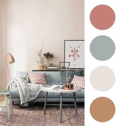 The living room color schemes to give the impression of more colorful living. Find pretty living room color scheme ideas that speak your personality. Good Living Room Colors, Living Room Color Schemes, Living Room Paint, Home Living Room, Living Room Decor, Home Room Design, Living Room Designs, Cores Home Office, Gold Bedroom Decor