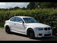 White BMW one series coupe. Yes please!