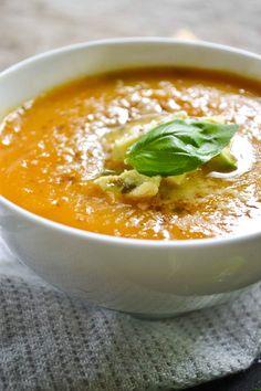 Sopa de Jengibre y Calabaza | Ginger Butternut Squash Soup
