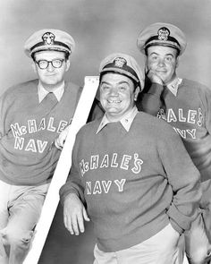 size: 10x8in Photo: McHale's Navy (1962) : Mchale's Navy, Ernest Borgnine, Hale Navy, Great Comedies, Abbott And Costello, British Comedy, Comedy Tv, Old Tv Shows, Vintage Tv