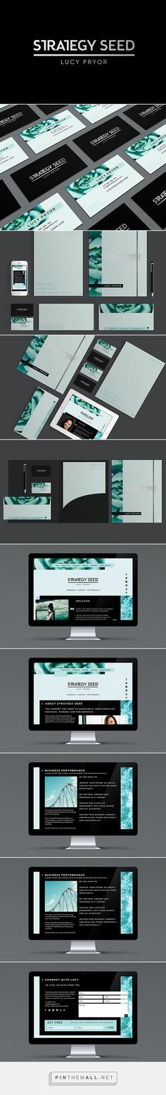 Strategy Seed Business Coach Branding by Tess Robinson | Fivestar Branding Agency – Design and Branding Agency & Curated Inspiration Gallery