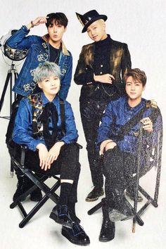 J-hope, Rap Monster, Suga and Jin