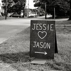 7 Creative Wedding Chalkboard IdeasTheKnot.com -