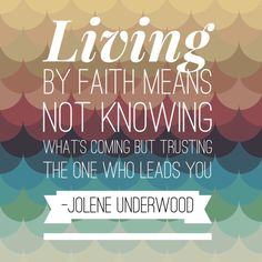 Faith Inspiration {Quotes}