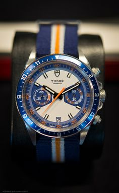 The Tudor Heritage Chrono Blue