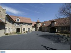 Exquisite European country manor home sits on 10.40 acres in Villanova, PA