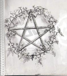 Wiccan Pentagr... Wiccan Pentagram Tattoo ...