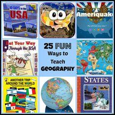 FUN Ways to Teach Geography