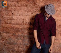 Look OTT  http://www.bredaalfaiataria.com.br  Camisa Casual / Jeanswear / Hat / Estilo / Moderno / Atual
