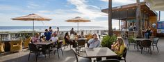 BLU Restaurant & Bar - Folly Beach. For a key lime or chocolate martini!
